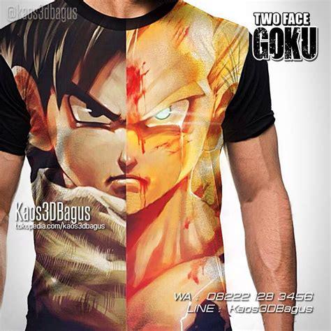 Kaos Anime Goku kaos kaos3d goku gohan