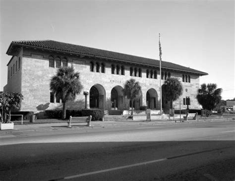 Clearwater Post Office by Florida Memory U S Post Office Building In Clearwater
