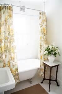 Design Clawfoot Tub Shower Curtain Rod Ideas Shower Curtain Rod Placement House Ideas Decorating Small White Bathrooms