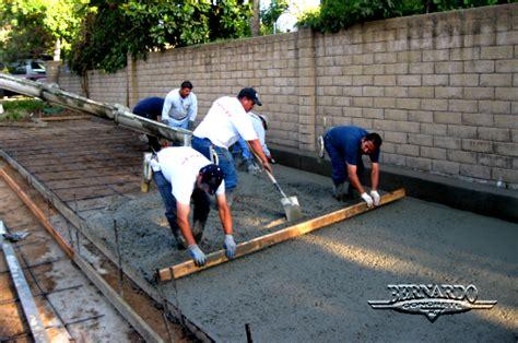 concrete driveway concrete contractors concrete