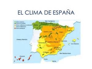 El Clima En El Clima De Espa 241 A
