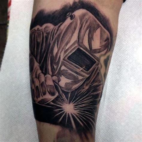 welding tattoos 80 welding tattoos for industrial ink design ideas