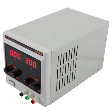 used bench power supply 0 30v 0 5a adjustable linear dc bench power supply