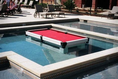awesome waterproof pool table