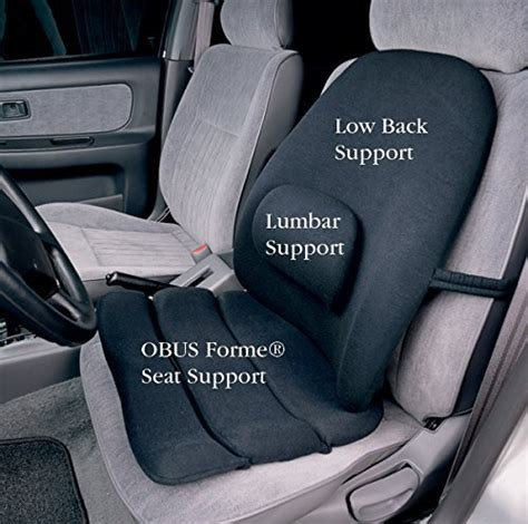 car seat back support autozone obus forme combo ergonomic orthopedic low back backrest