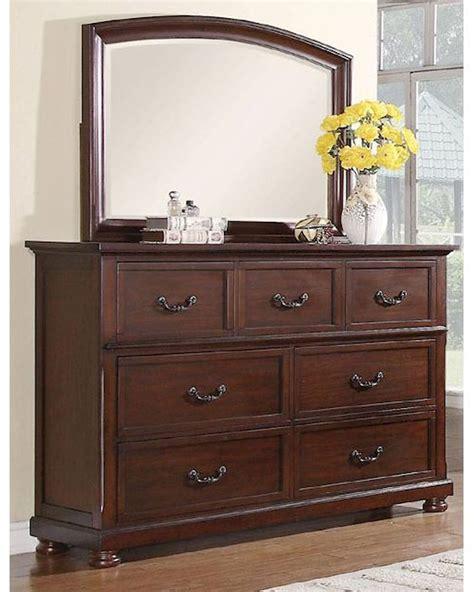 Dresser W Mirror by Coaster Dresser W Mirror Co 200833 34