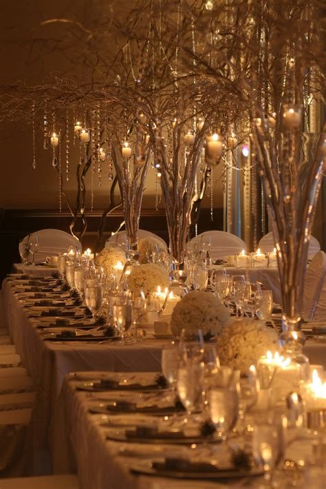 winter wedding table decor wedding design studio terminal city winter