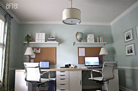 Two Desk Home Office by Two Person Desk On Chiropractic Office Decor