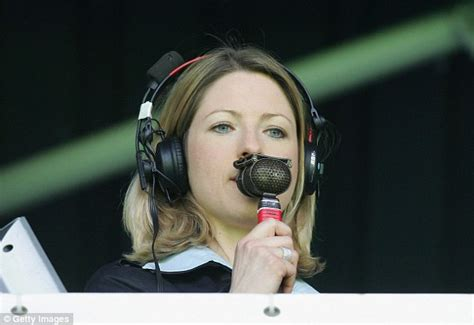 The Presenter Within Roz Townsend jacqui oatley joins itv as channel s newest football presenter from start of next season daily