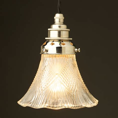 clear glass pendant light shade victorian glass light shade pendant