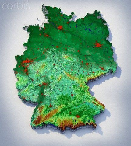 topographic map germany topographic map of germany new connections journey our