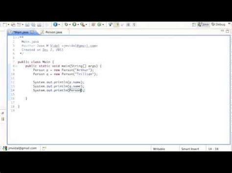 pattern java static java static variables and methods tutorial youtube