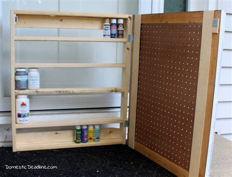 Paint Storage Cabinets Project Challenge Diy Paint Storage Cabinet Domestic Deadline
