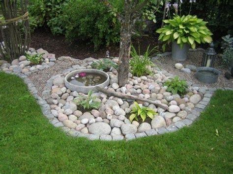 Stein Gardens by Garten Gestaltungsideen Steine Wasser Mini Reich Pflanzen