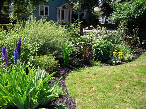for gardens border garden provides privacy in south buffalo buffalo