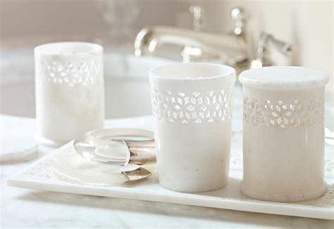 Marble Vanity Tray by The Jali Marble Vanity Tray And Set 100 Add A Sense Of Delicate Luxury With Carved
