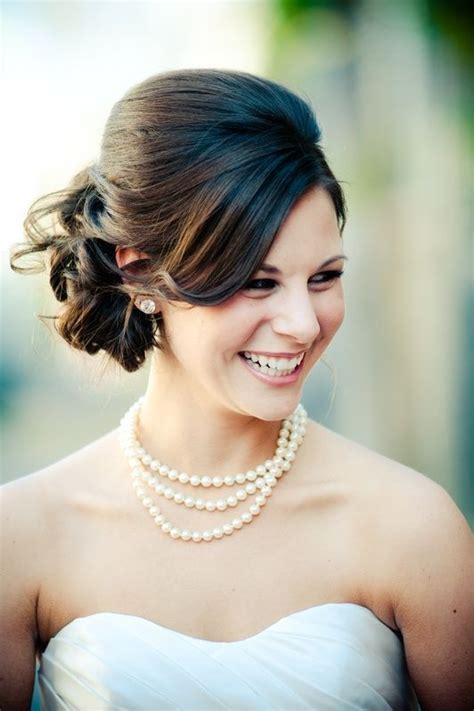 Simple Wedding Hairstyles With Bangs by 27 Beautiful Updo Hairstyles Ideas Inspirationseek