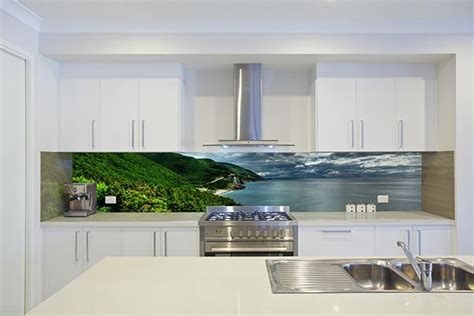 glass design for kitchen printed glass kitchen splashbacks