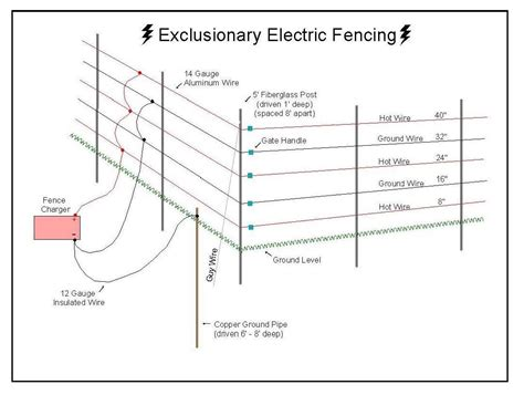 electric fence wiring diagram 29 wiring diagram images