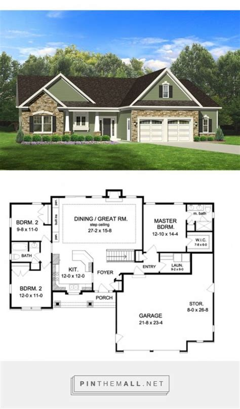 Ranch Rambler Floor Plans 25 best ideas about rambler house plans on pinterest