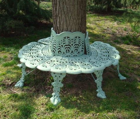 cast iron tree bench tree surround antique cast iron anthemion design c