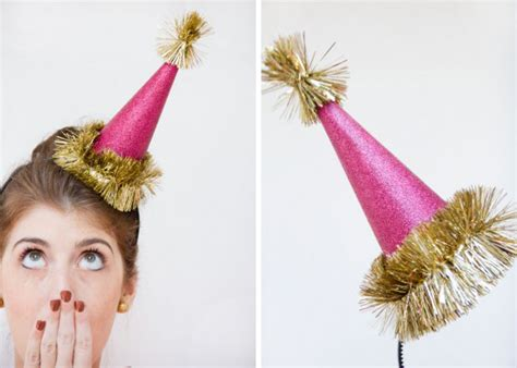 diy new years hats new years the inspired room