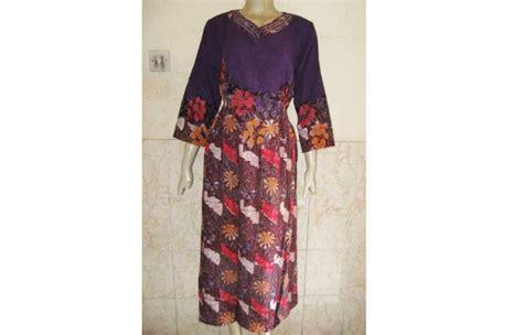 Daster Batik Longdres Biru baju batik daster 002 toko batik jogja