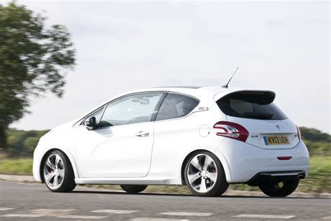 peugeot 208 gti white peugeot 208 gti review in pictures evo