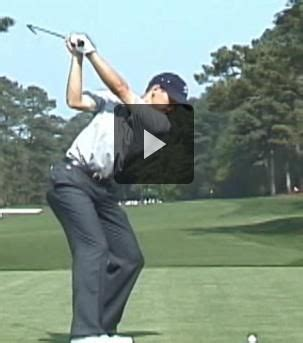 sergio garcia swing slow motion pin by powerchalk compare your technique to pros on pga