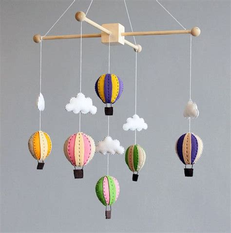 How To Make A Baby Mobile For Crib by Diy Baby Mobile How To Make Your Own Air Balloon