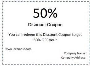 coupon template for word best photos of free coupon voucher template free drink