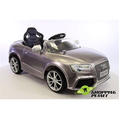 audi rs  chargeable battery car  kids shopping