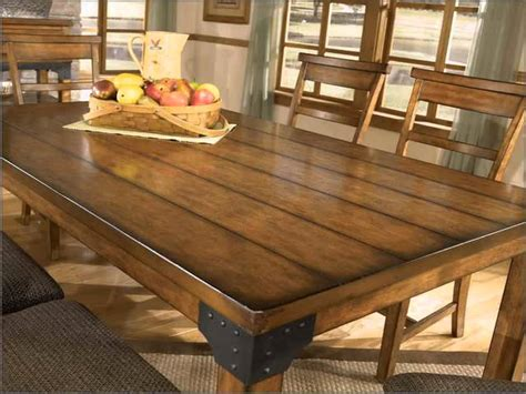 Best Rustic Dining Room Table With Bench 86 About Remodel