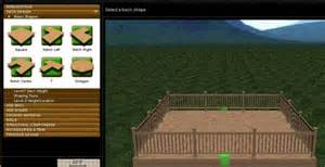 Patio Design Software Free Online by Free Deck Design Software Free Deck Design Software