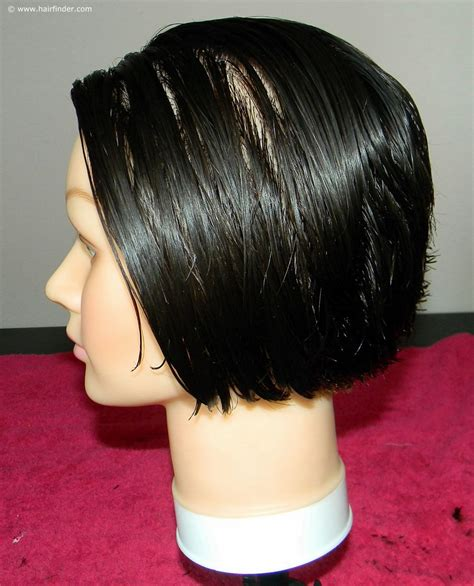 short angled cut thats why how to cut a short inverted bob or angled bob