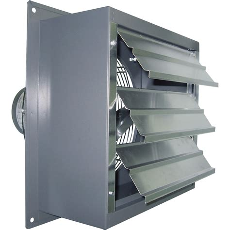variable speed bathroom exhaust fan canarm wall exhaust fan 12in variable speed 1 3 hp