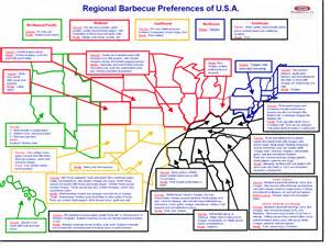 regional barbecue preferences infographic all qd up