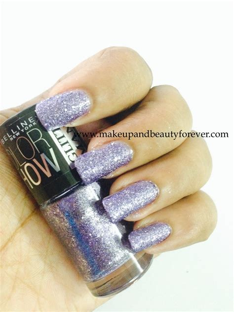 Glitter Eyeshadow Maybelline All Maybelline Colorshow Glitter Mania Nail Paints Review