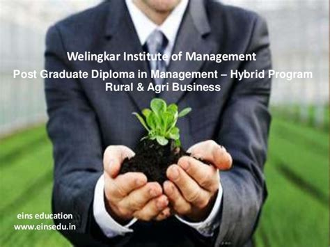 Mba Agribusiness Management Eligibility by Distance Mba In Rural And Agri Business From Welingkar