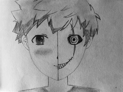 zeichnen ideen einfach habt ihr ideen was ich zeichnen kann anime kunst horror