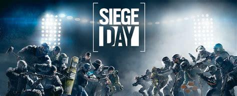 rainbow  siege day  stream today  pm