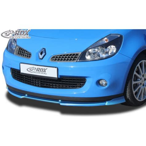 Grille Pare Choc Clio 3 by Rajout Pare Chocs Avant Lame Pare Chocs Avant Mtk Tuning