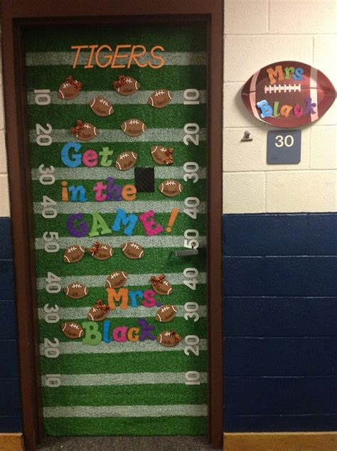 sports themed door decorations 62 best images about all about the football theme on