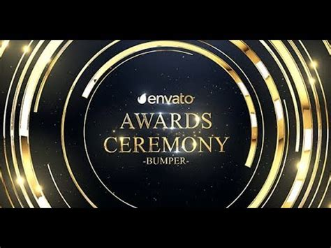 Awards After Effects Template Ae Templates Youtube After Effects Awards Template