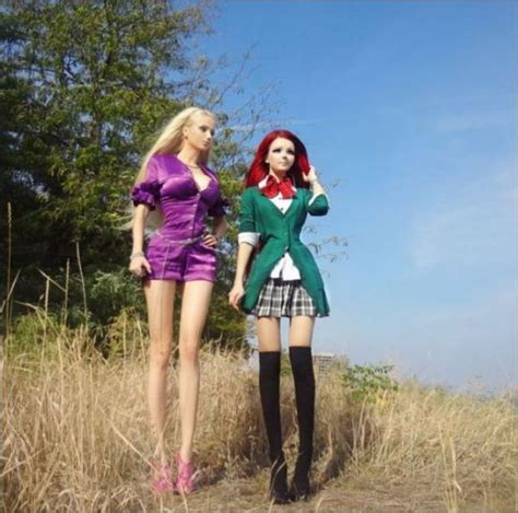 human barbie doll family ukraine s anime and real barbie meet face to eerie