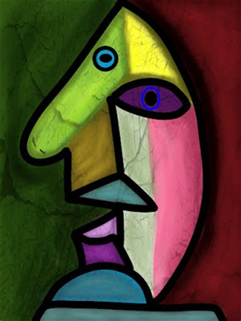 picasso paintings of faces picasso by mbeaver