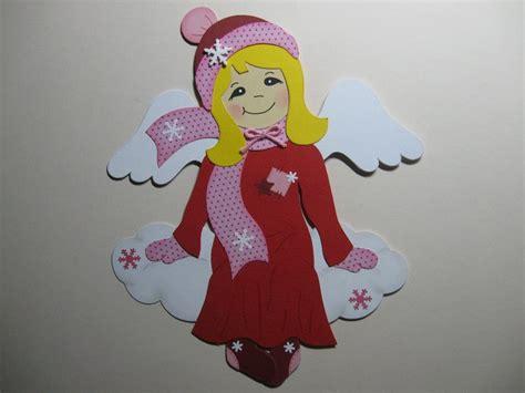 Fensterdeko Weihnachten Engel by Fensterbild Engel Auf Wolke Rot Rosa Weihnachten