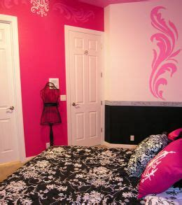 Feng Shui Pink Bedroom Interior Design Home Decor Furniture Furnishings