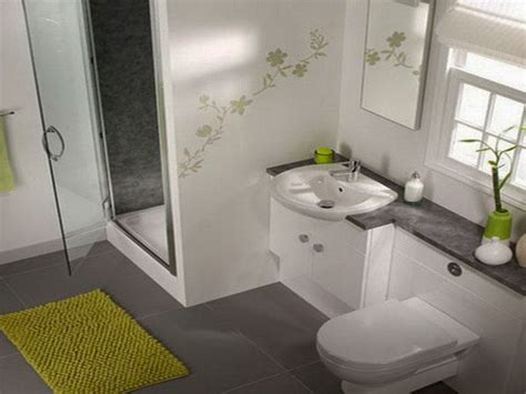 small bathroom model with nice furniture for limited space