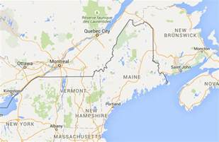 driving distance from portland me to city canada